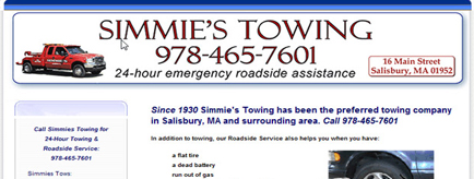 Simmies Towing