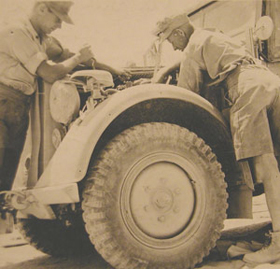 rommel in africa photo